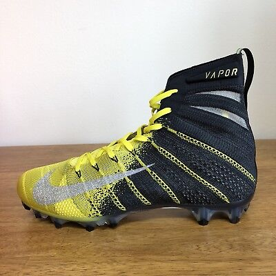fc00a84a7d35 Nike Vapor Untouchable 3 Elite Football Cleats Black New 11  AH7408-007