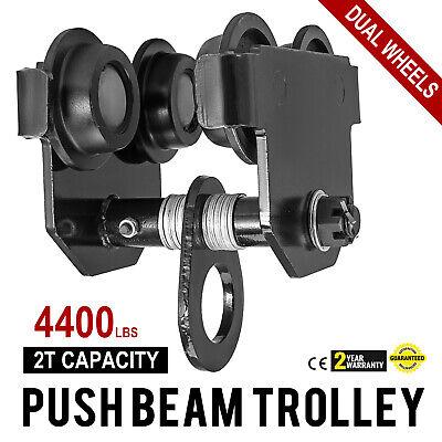2 Ton Push Beam Trolley For I Beam Gantry Crane Hoist Winch Shop