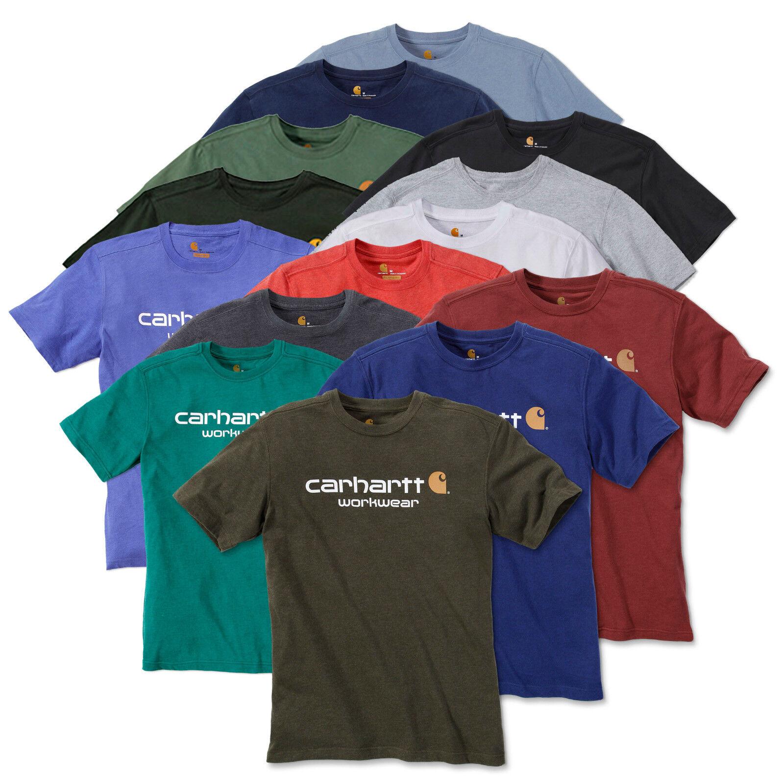 Carhartt Core Logo Short Sleeve T-Shirt | 13 colors | workwear | 101214 |