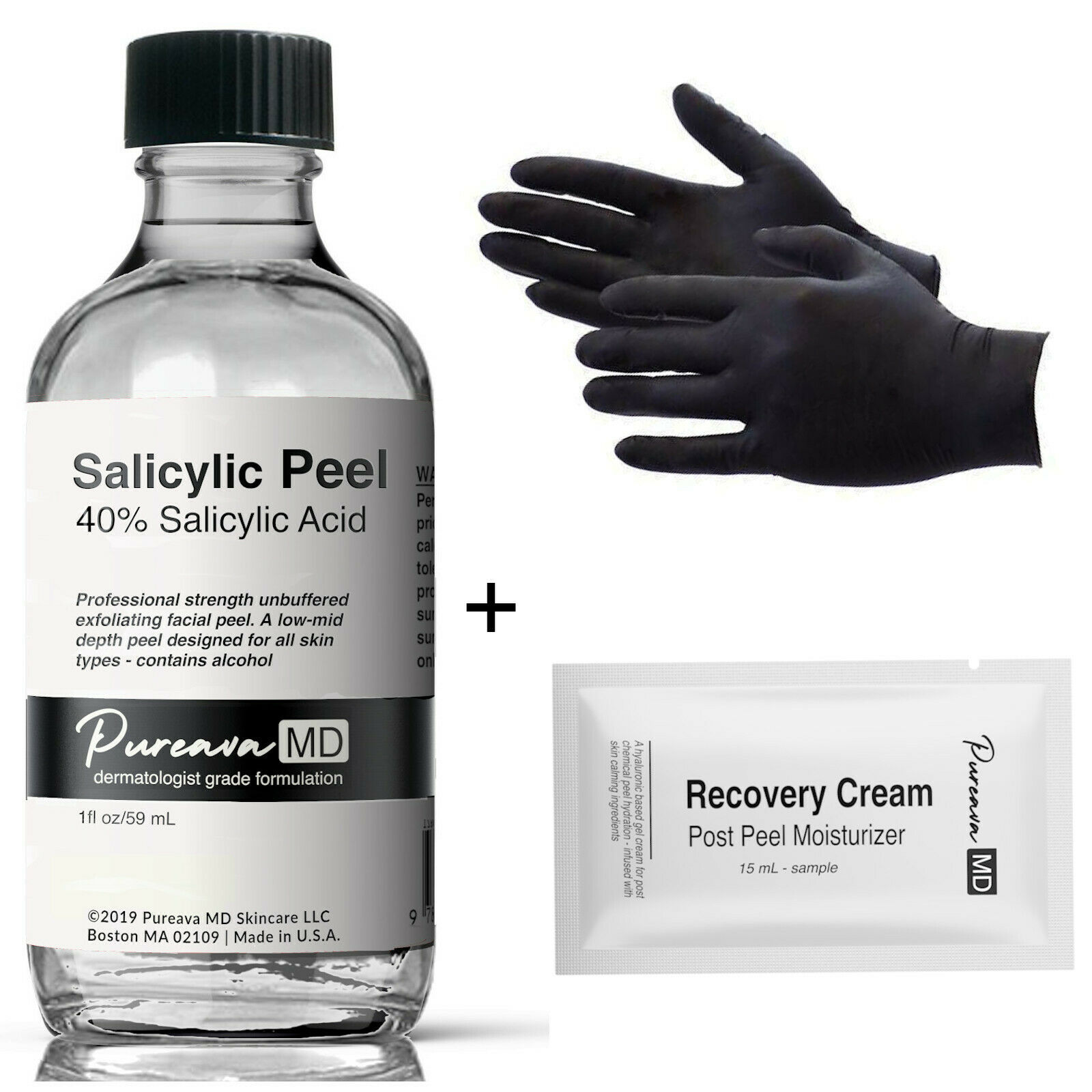 10-40% SALICYLIC ACID Skin/Face Chemical Peel Kit -for Oil A