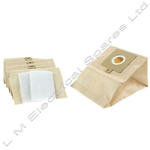 Electrolux The Boss B3300 B3306 Z3318 Vacuum Cleaner Dust Bags X 5 & 2 Filters
