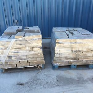 2 Skids Of Stone For House Siding Or Fireplace