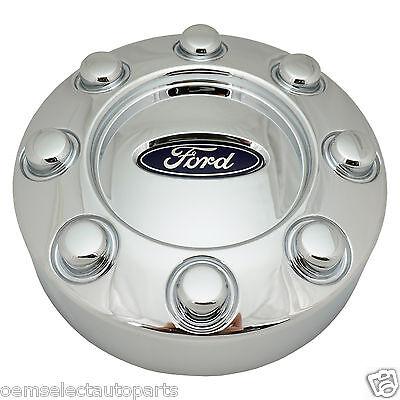 OEM NEW 2005-2015 Ford F-250, F-350 4x4 SRW Rear Chrome Center Cap Wheel Cover
