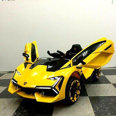 12V Kids Ride On Car 12V Electric Wheels Remote Control MP3 LED Light Toy Sports