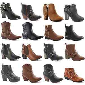 WOMENS-LADIES-BLOCK-CHUNKY-PLATFORM-HEEL-CHELSEA-CUT-OUT-ANKLE-BOOTS-SHOES-SIZE