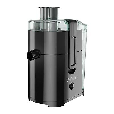 BLACK+DECKER Fruit and Vegetable Juice Extractor with Space Saving Design Bla... Black Decker Fruit Vegetable Juice Extractor