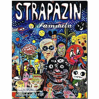 Strapazin 125 COMIC Illustration Zeitschrift Thema: SAMMELN Kreativität Avangard