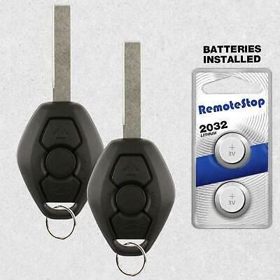 2 For 2004 2005 2006 2007 2008 2009 2010 BMW X3 X5 Z4 Keyless Car Remote Key Fob