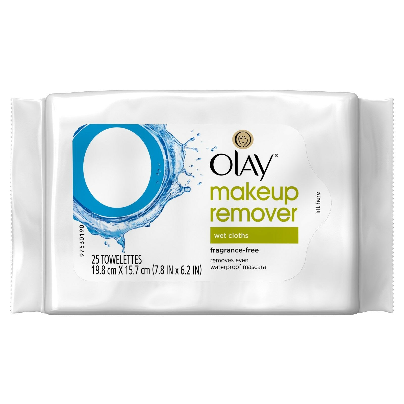 Olay Makeup Remover Wet Cloths, Fragrance-Free