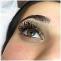 Eyelash Extensions Classic/Volume for the holidays!