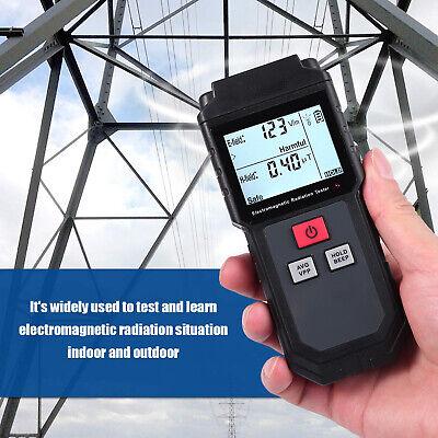 Lcd Electromagnetic Field Radiation Detector Emf Meter Anti Radiation Shield