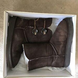 Women's super warm shearling boots, size 7.5