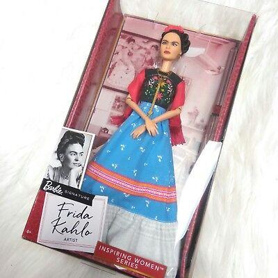 Barbie Doll Frida Kahlo Inspiring Women Series Khalo 2018 Limited Edition