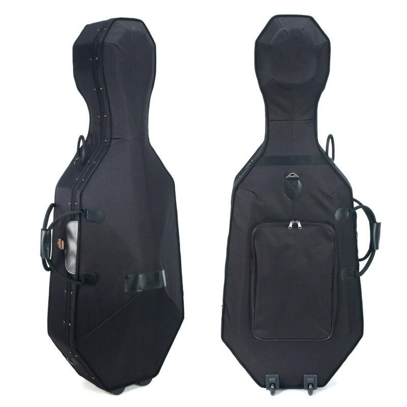 Cecilio CHC-50C Lightweight Cello Hard Case ~Size 4/4