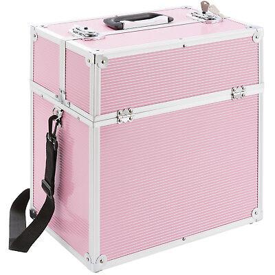 Kosmetikkoffer Beautycase Schminkkoffer Friseurkoffer Pink