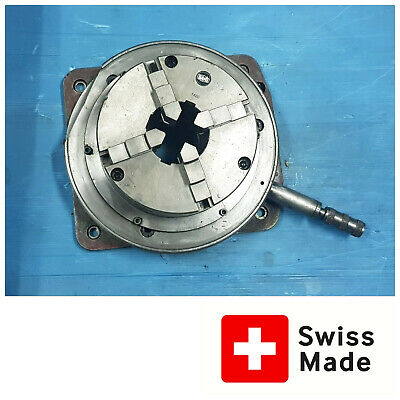 Swiss Bani Rotary Table With Dividing Plate Horizontal Rotary Table 200mm 8 In