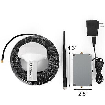 GPS Signal Repeater Amplifier Transfer 15M-Antennen-Komplettsatz Empfangen L1 L2 Signal-repeater