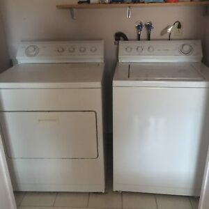 Laundry pair, washer and dryer