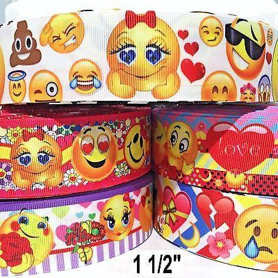 Ribbon Emoji (Grosgrain Ribbon 1.5
