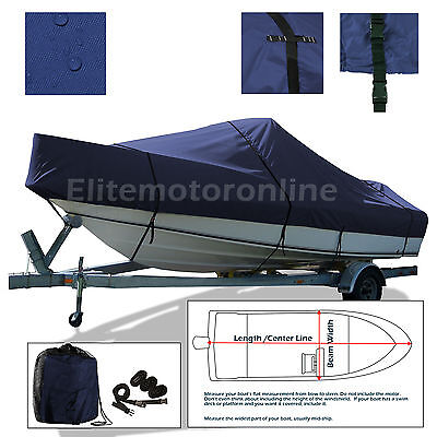 Angler 22 Panga CC Center Console Fishing Trailerable boat Storage cover Navy