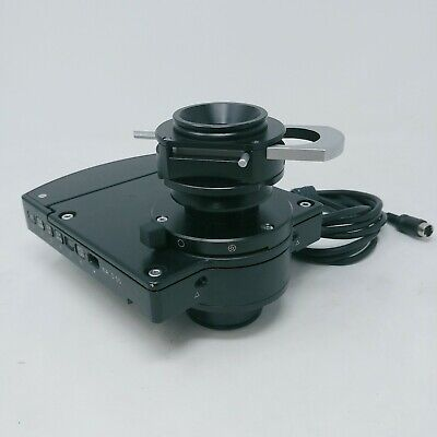 Olympus Microscope Ix81 Condenser Ix2-lwucda2 W. Dic Prisms Polarizer Ix-lwpo