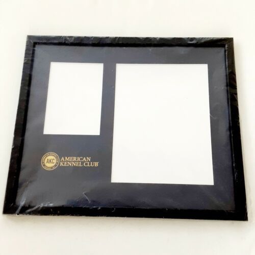 New AKC American Kennel Club Picture Frame & Certification Dog Certificate