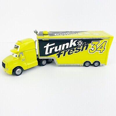 Disney Pixar Cars Trunk Fresh Hauler Truck #34 Die Cast