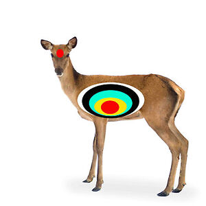 Sassy image within printable deer target