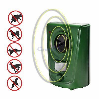 Ultrasonic Animal Repeller Mole Cat Dog Fox Bird Repellent For Yard Garden Lawn