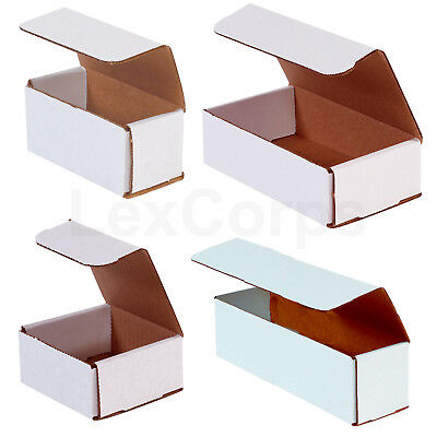 White Corrugated Mailers - Many Sizes Available