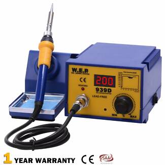 WEP 75W Soldering Iron Station Lead Free Digital ESD Safe Tool