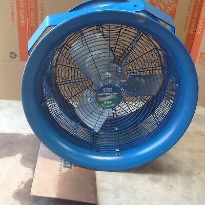 Patterson 18 High Velocity Industrial Fan. 12 Hp 3 Phase