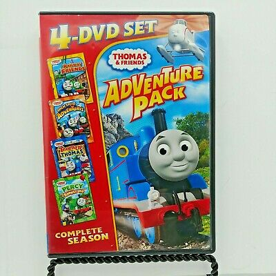 Thomas & Friends: Adventure Pack (DVD, 2010, 4-Disc Set)
