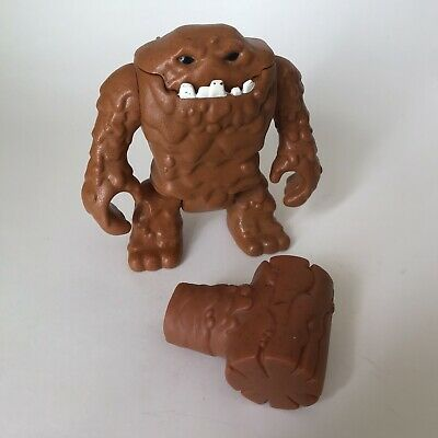 Imaginext Clayface with hammer hand complete DC Batman Clay Face