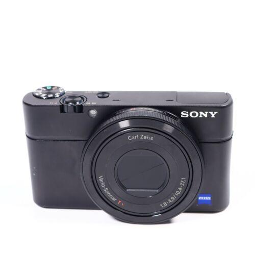 Sony Cybershot DSC-RX100 II 20.2MP Digital Camera - Black w/ 28-100 mm Lens