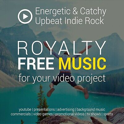 Energetic & Catchy - Royalty Free Music For Video Project Background Stock Music