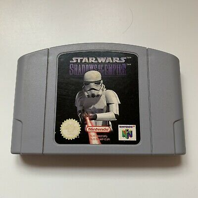Nintendo N64 Game - Star Wars Shadows of the Empire - Tested - Cart Only
