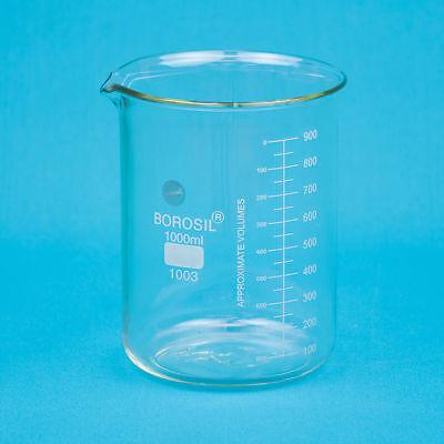 Heavy Duty Glass Beaker 1000ml 1 Ea