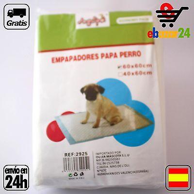 6 Empapadores para perro gato mascota 60 x 60 cm pipi caca adiestrar *Envío GRAT