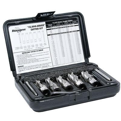 Hougen 12001 5 Piece 1 Depth Of Cut 12000 Series Rotabroach Cutter Kit