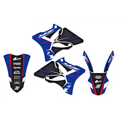 adesivi moto grafiche Yamaha Yz 125 / 250 2002 – 2014 2231N blackbird Dream 4