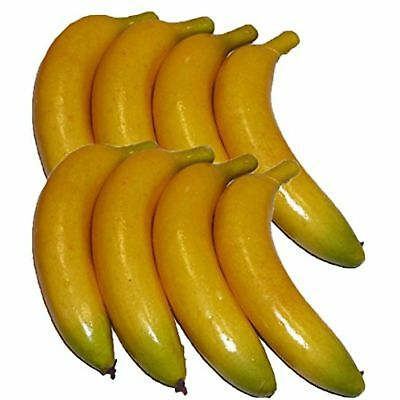 Artificial Bananas for Decoration - Set of 8