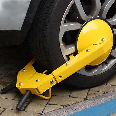 PKW Radkralle Parkkralle Wegfahrsperre Wohnwagen Diebstahlschutz Anhänger NEU