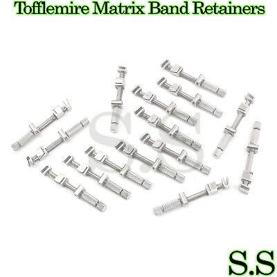 15 Pcs Universal Tofflemire Matrix Band Retainers Dental