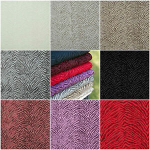 leonardo animal velours rideau tapisserie tissu by fibre naturelle 8 couleurs ebay. Black Bedroom Furniture Sets. Home Design Ideas