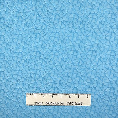Fabric Traditions - Essentials Patty Reed Blue Hearts Allover - Cotton YARD
