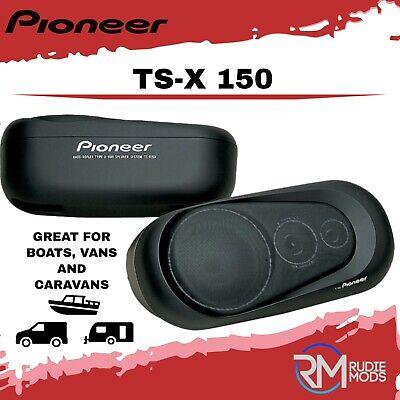 Pioneer TS-X150 Car Surface Mount Pod Speakers 3 way 60w Van Motorhome