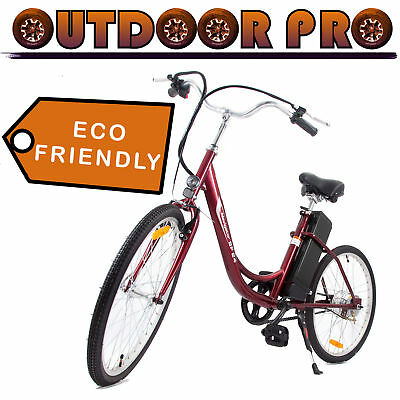 24' Yukon Trail Electric Bicycle Power Bike 24V 250W Assembl
