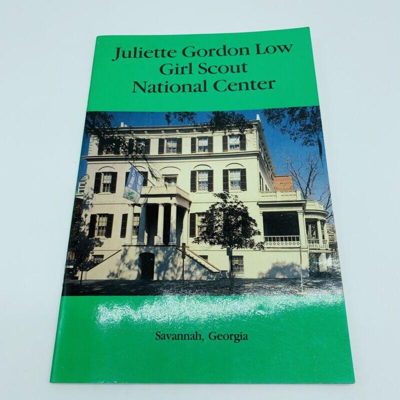 Juliette Gordon Low Girl Scout National Center Booklet 1988