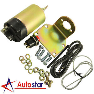 New Universal 100lb Trunk Solenoid Shaved Door Kit Popper Kit Street Rod
